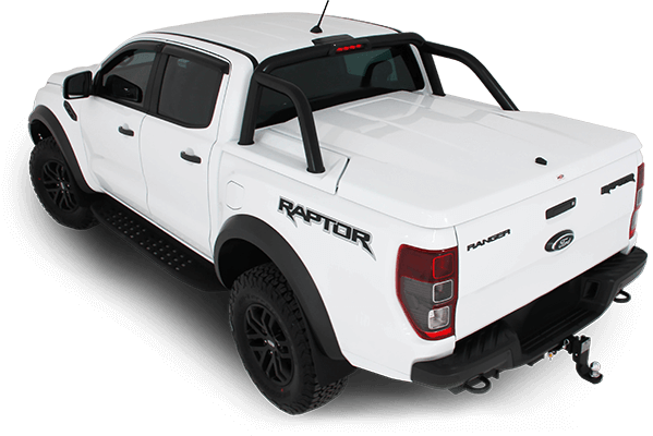 HSP Roll R Cover – Dual Cab with Sports Bar Mounting Kit